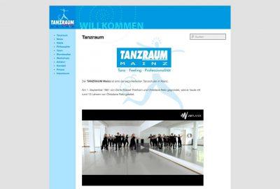 tanzraum-webseite